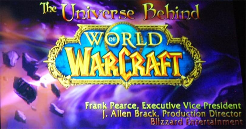 "Listen to Blizzard's ""Universe Behind World of Warcraft"" keynote from Austin GDC"