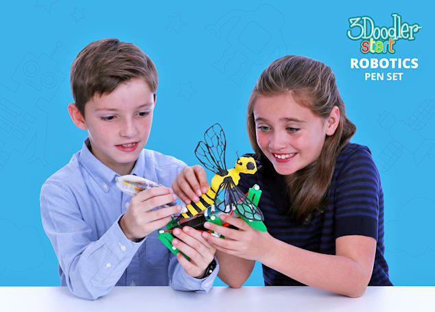 3Doodler's new kits help kids craft their own robots