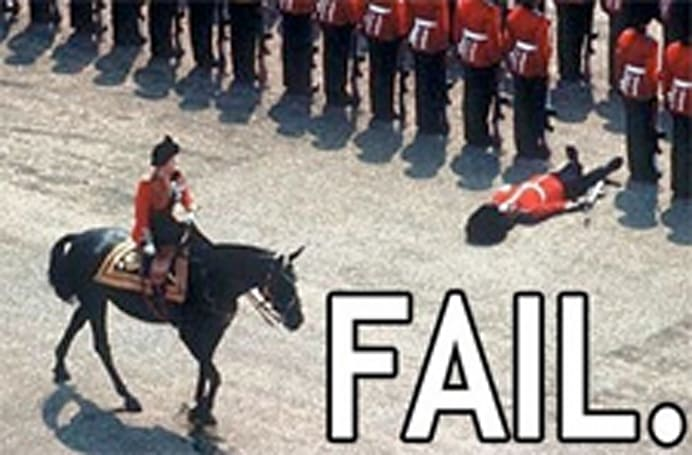 Breakfast Topic: Starting the year with fail