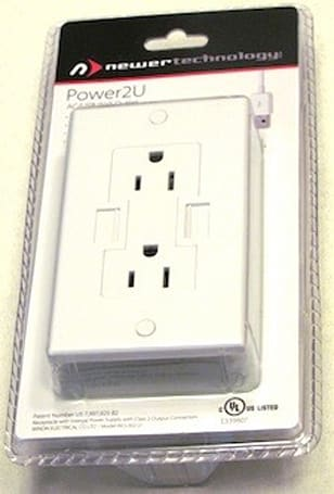 Newer Technology Power2U AC/USB Wall Outlet: More power to your USB devices