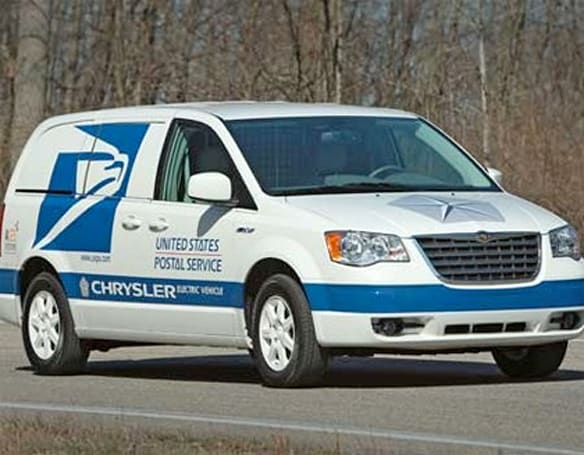 Chrysler aims to produce all-electric USPS pimpmobiles... er, minivans