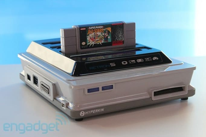 Hands-on with Hyperkin's Retron 5: emulating nine classic consoles with help from Android