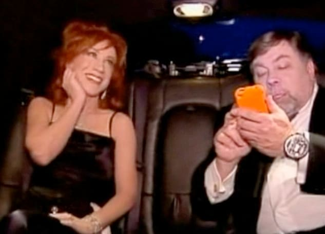 Screen Grab: Woz hacks Kathy Griffin's iPhone... on TV