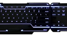 Tron gaming peripherals soothe your nostalgia with calming blue light (video)
