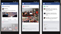 Facebook helps you follow hot trends on your phone