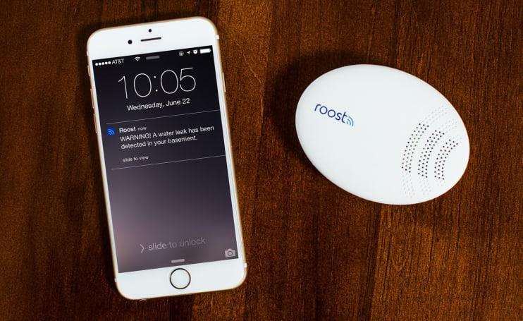 Roost's smart water detector monitors your home's wet spots