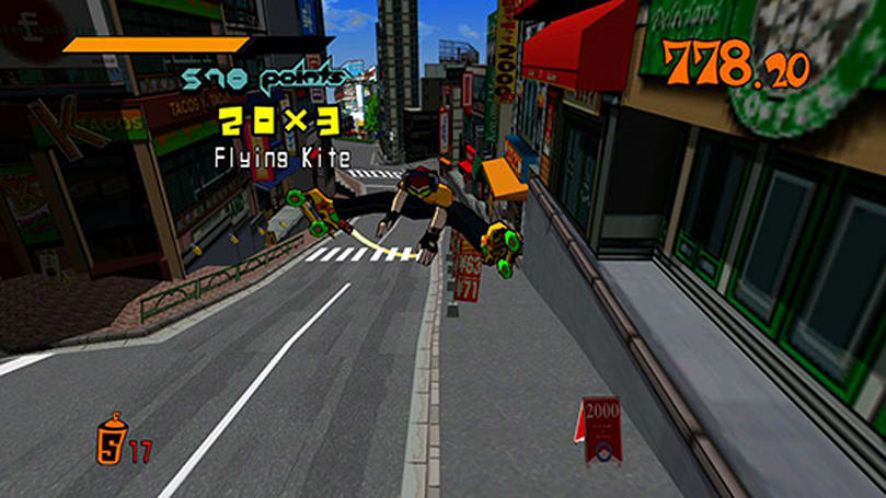 Jet Set Radio goes under the microscope at Did You Know Gaming