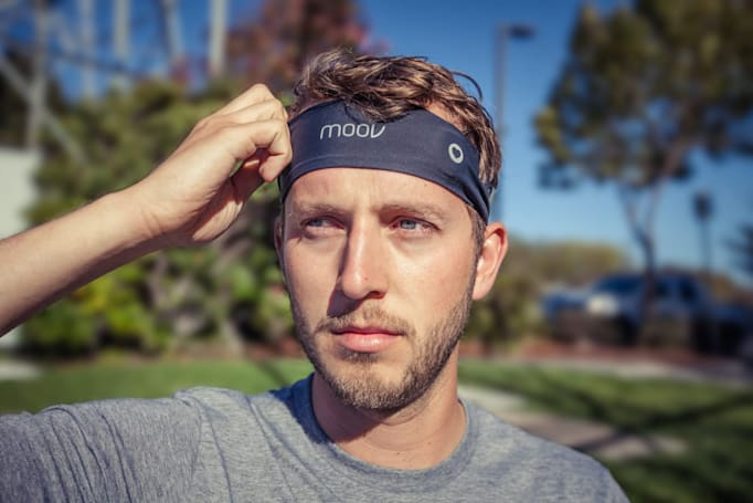 Moov made a heart rate sensor you wear on your head