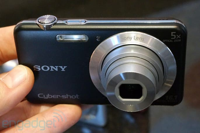 Sony Cyber-shot W710 and W730 entry-level cameras start at $99, we go hands-on