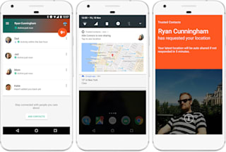 Google's Trusted Contacts app lets people know you're safe