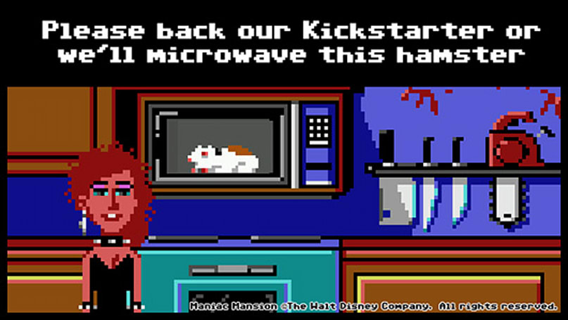Ron Gilbert's new 2D adventure game passes crowdfunding goal