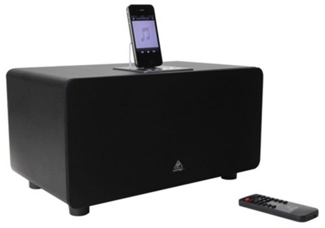 Behringer iNuke Boom Junior shrinks a giant iOS dock, won't trigger as many earthquake warnings