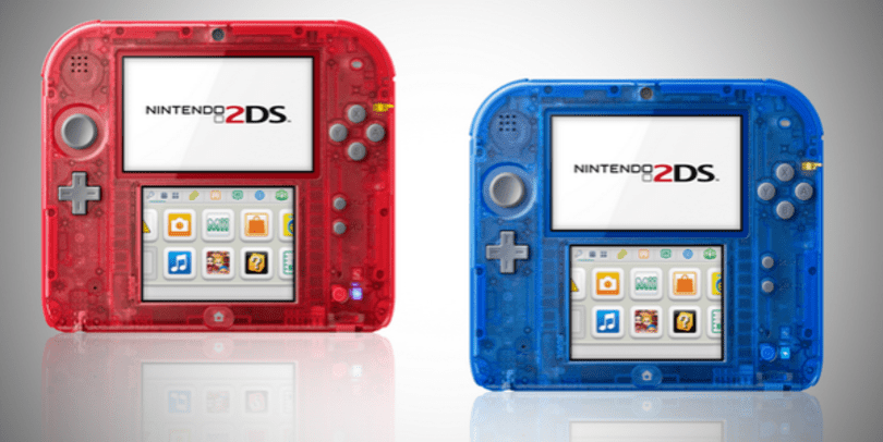2DS to go see-through in EU with new designs, out in Nov.