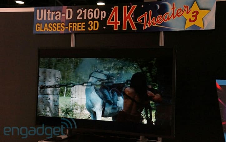 Stream TV glasses-free 4K 3D eyes-on (video)