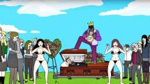 Brad Neely's weird Adult Swim cartoon premieres on Vine