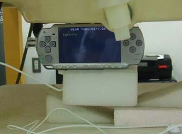 "PSP lite approved by the FCC as the ""PSP-2001"""