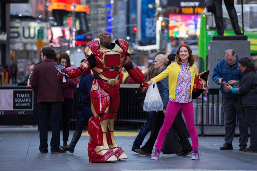 Inside the colorfully costumed world of 'Unbreakable Kimmy Schmidt'
