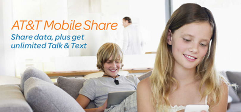 AT&T introduces Mobile Share Value plans