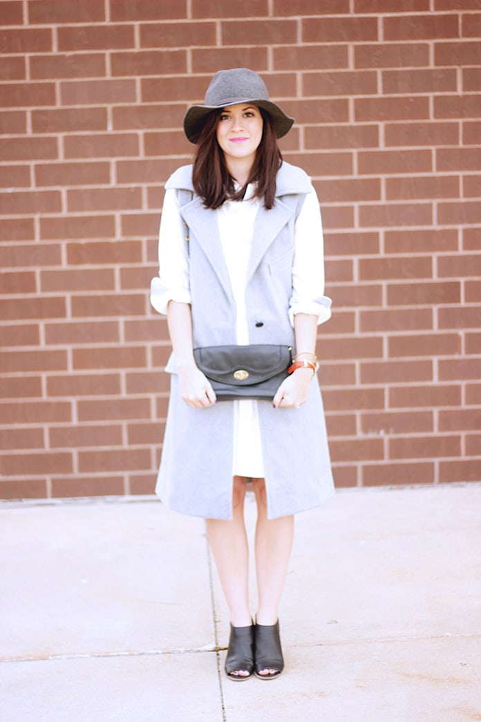 Street style tip of the day: A sleeveless coat