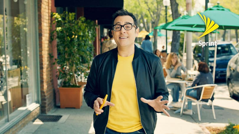 Sprint poached Verizon's 'Can you hear me now?' guy