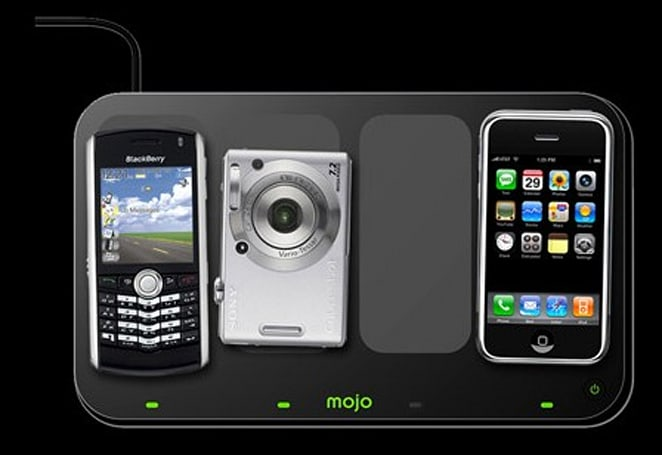 Mojo Mobility shows off wireless charging on Intel MIDs
