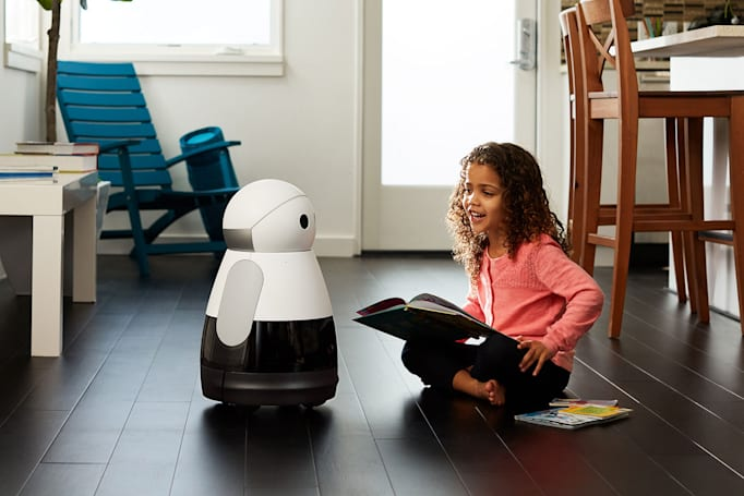 Kuri home robot can read to your kids and watch your home
