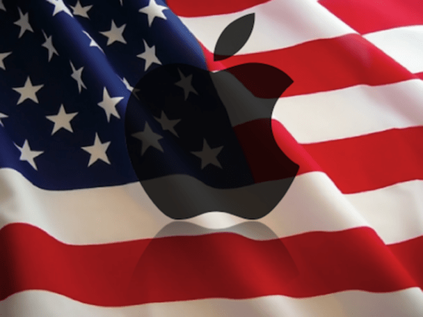 How America benefits from Apple