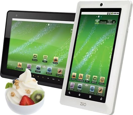 Creative's 7-inch ZiiO tablet gets Froyo this Friday, 10-inch model to follow suit