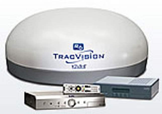 KVH intros TracVision SlimLine satellite system: HDTV in your RV