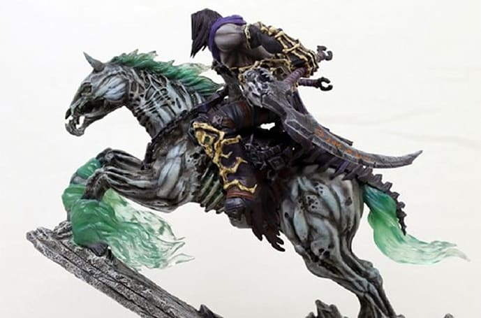 Darksiders 2 statue brings Death and Despair into your living space