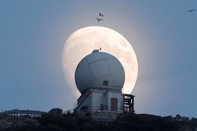 Watch the largest supermoon in 68 years