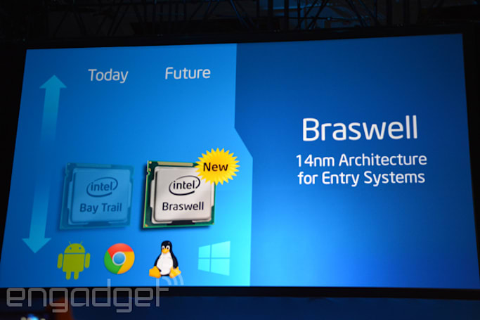 Intel's efficient 14nm processors to arrive on both enthusiast and entry systems