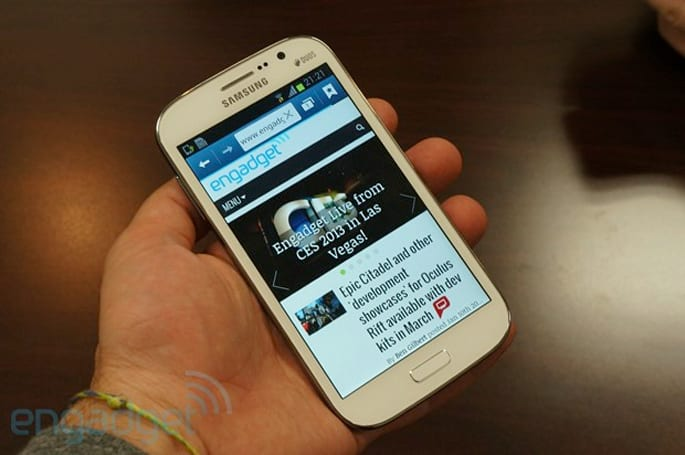 Samsung Galaxy Grand Duos hands-on (video)