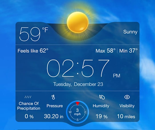 2 new weather apps just in time for your holiday sojourns