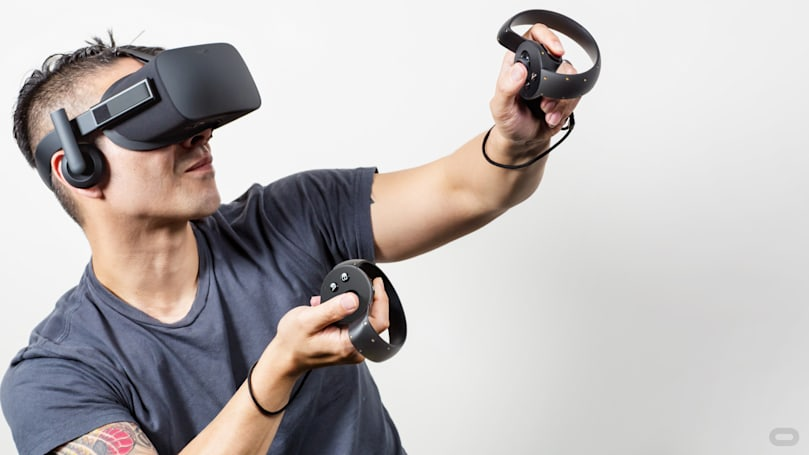 Oculus Touch to launch on December 6th for $199