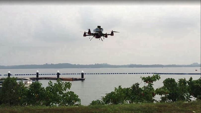 Singapore Post trials island-hopping delivery-by-drone program