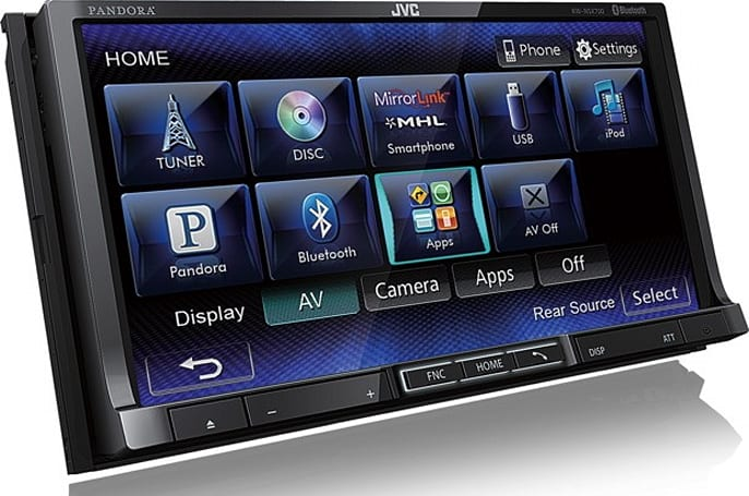 JVC launches two Mirrorlink-enabled head units at CES
