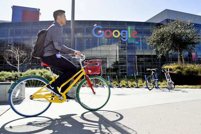 Google headquarters faces string of attacks