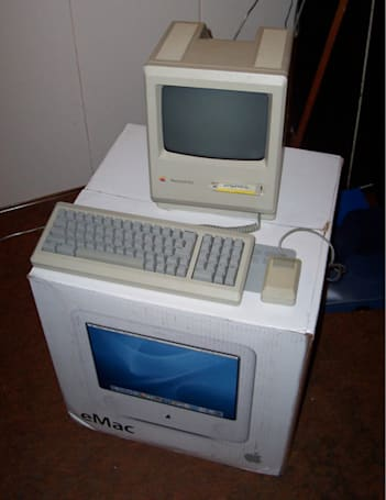 An eMac that's finally good for something