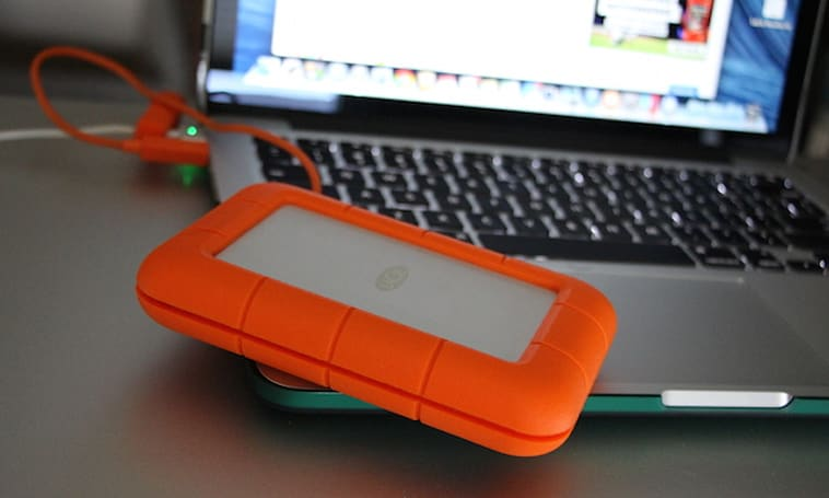 Giveaway: LaCie Rugged USB 3.0 Thunderbolt SSD Drive