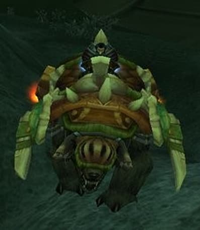 Player buys bear mount from guild for 20,000 gold