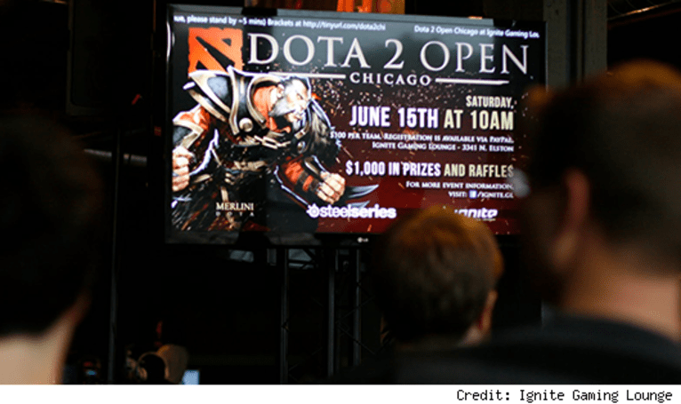 I went to a Dota 2 tournament and not one person called me a noob