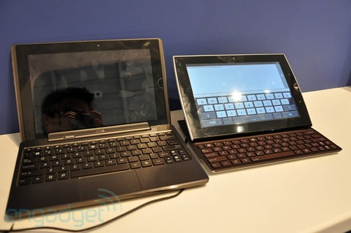ASUS Eee Pad Transformer and Slider: another look