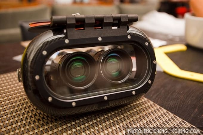 3D video dives deeper with custom dual-camera case