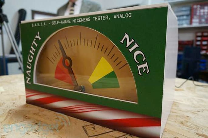 Ben Heck's Naughty or Nice Meter knows if you've been bad or good