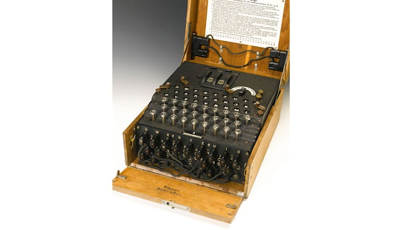 Rare Enigma machine sells for $233,000