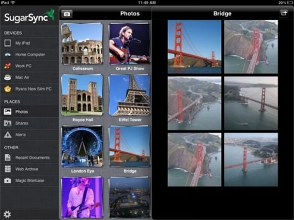 SugarSync 3.0 hits the iPad with revamped interface