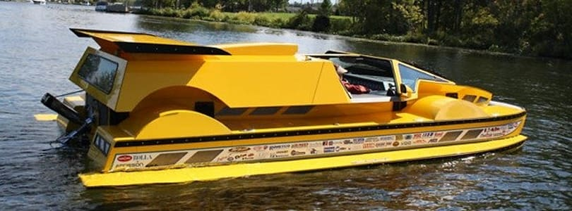 762 horsepower amphibious HydroCar listed on eBay for $777,000