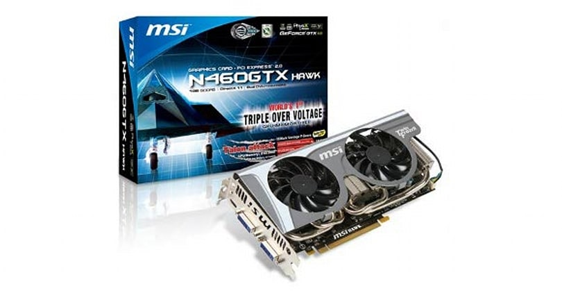 12 Days of Winter Veil Giveaway Day 10: MSI GTX 460 HAWK graphics card