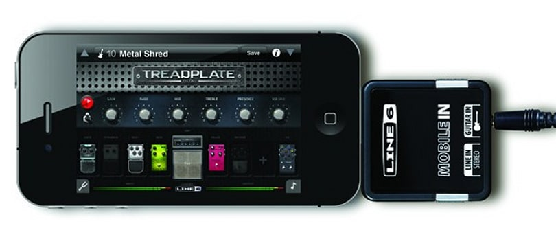 Line 6 Mobile In app turns your iPad or iPhone into a multi-effect amp -- party on, Wayne